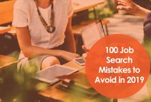 100 Job Search Mistakes to Avoid in 2019 banner