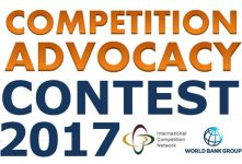 2017 - 2018 Competition Advocacy Contest banner